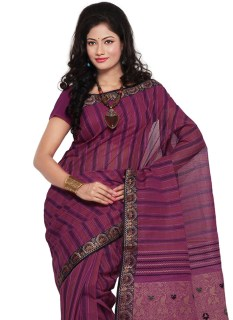 magenta-bengal-cotton-saree-sasmr1078-b
