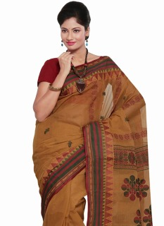 rust-bengal-cotton-saree-sasmr1081-b